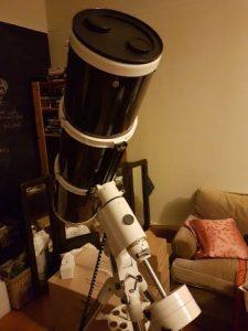 """Skywatcher 8"""" astrograph & HEQ5 mount"""