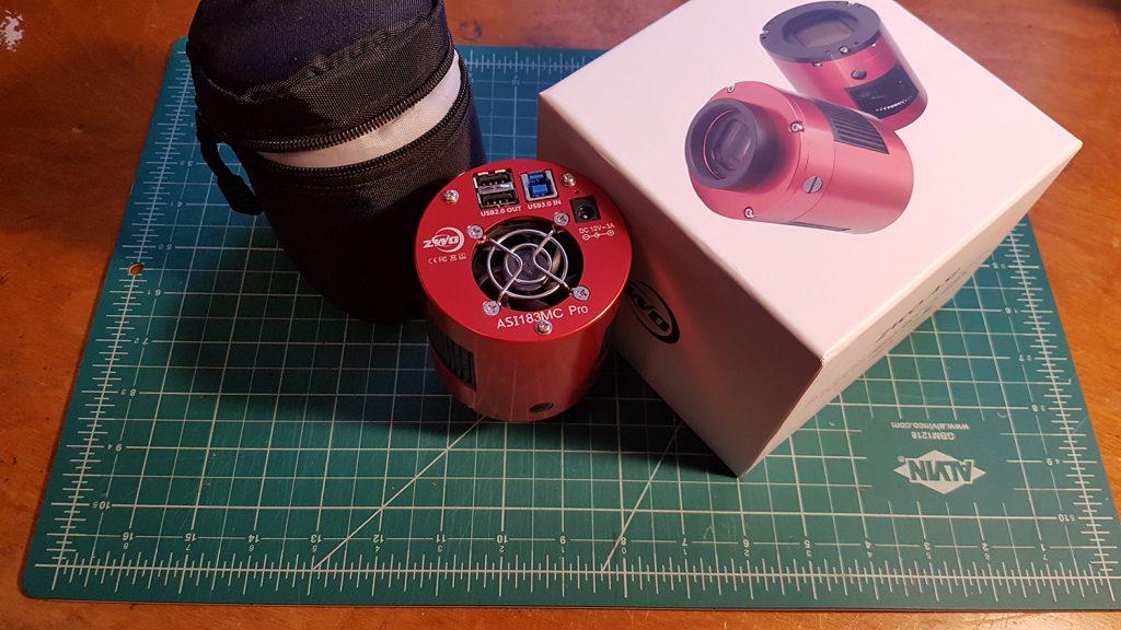 ZWO ASI183MC Pro OSC camera